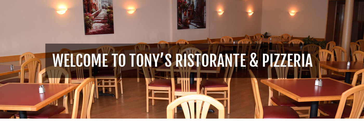 Tony's Italian Restaurant and Pizza